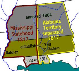 Mississippi Territory dark