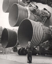 S-IC engines and Von Braun