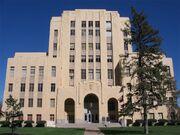 Potter County Courthouse building - Amarillo Texas USA