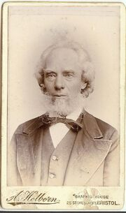 George Burgess (1829-1905) at 70