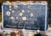 Hannah Maria Marks (1878-1949) tombtone