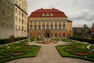 Wroclaw Palace - view from the garden