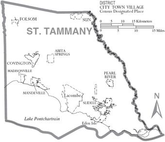 St  Tammany Parish, Louisiana | Familypedia | FANDOM powered