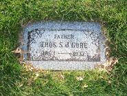 Gore TSJ- tombstone