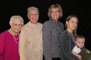 Agnes Ockenfels in five generations
