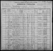 Census of Florence Township Benton County Iowa 1900 pg15