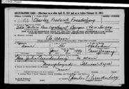 Freudenberg-Charles 1918 draft