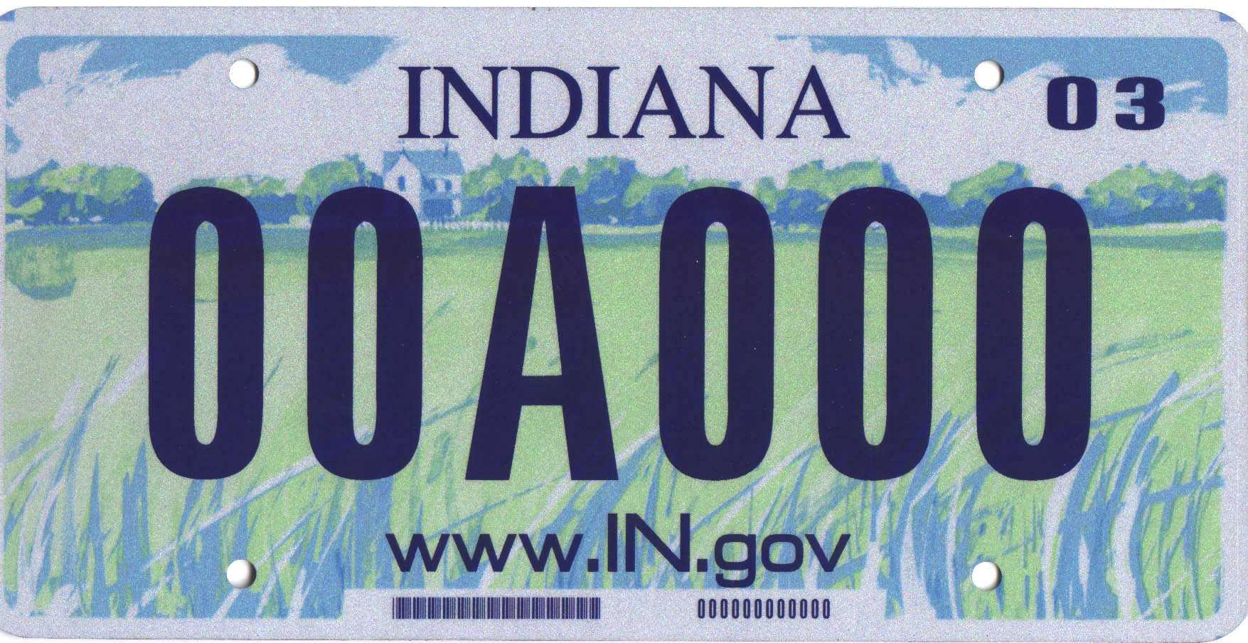Image - Indiana license plate.jpg | Familypedia | FANDOM powered ...