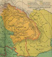 1606 map Ward 1912