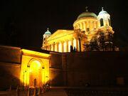 Esztergom-Bazilika+Sotetkapu