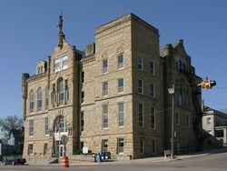 Wapello County, Iowa Courthouse