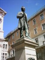 Alessandro Manzoni statue