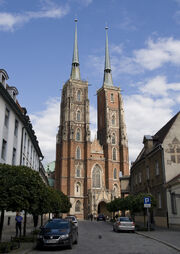 Poland Wroclaw Cathedral 2007