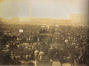 Chartist meeting, Kennington Common