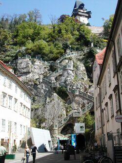 Grazer Schlossberg Kriegssteig