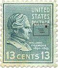 Millard fillmore stamp