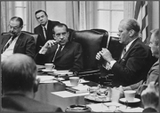 Ford in meeting with Nixon