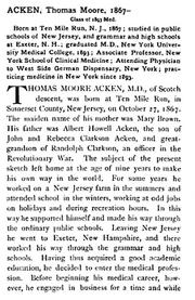 Acken-ThomasMoore 1903 biography page1of2