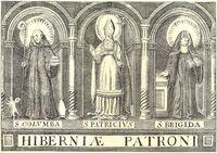 Monasticon Hibernicum 1873 Three Patron Saints