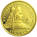Vytautas the Grand Duke of Lithuania Reversum