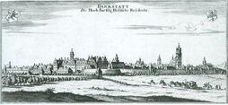 Darmstadt in 1626 Thesaurus Philopoliticus