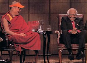 Dalai Lama & Bishop Tutu. Carey Linde
