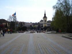 Piata Teatrului Targu Mures