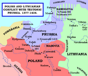 Polish and Lithuanian Conflict with Prussia 1377-1435