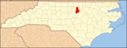 North Carolina Map Highlighting Durham County.PNG