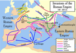 Invasions of the Roman Empire 1