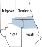 Lee County AL formation