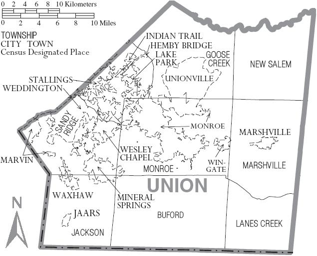 Union County, North Carolina | Familypedia | Fandom