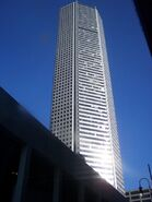 Chase Tower, a block away