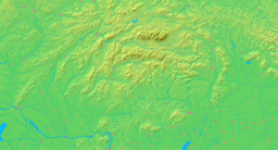 Slovakia - background map