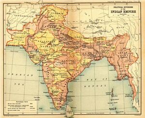 British Indian Empire 1909 Imperial Gazetteer of India