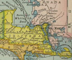 Chippewa county, MI 1904