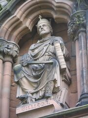William I, Lichfield Cathedral