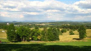 Augusta County, Virginia countryside