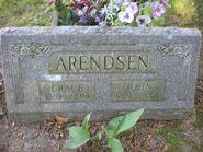John and Grace Arendsen gravesite Mountain Home Otsego