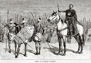 Group of Kanem-Bu warriors