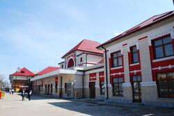 RO BZ Railway station