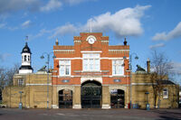 Woolwich royal arsenal gatehouse 1