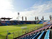 Szczecin stadion przy ul Twardowskiego