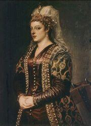 Portrait of Caterina Coronaro 1542 uffizi florence Titian