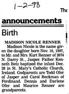 Madison-Renner-Birth