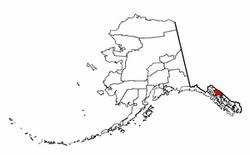 Map of Alaska highlighting Juneau City and Borough.png