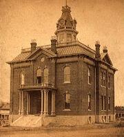 Prescott Courthouse, AZ (ca 1885)