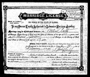 Rath Jensen 1902 marriage