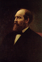 James Garfield portrait