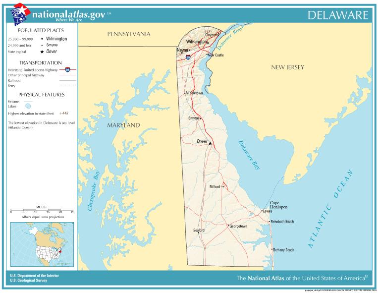 SOUTHERN STATES SLAVE MAP 1861 Smyrna Wilmington DELAWARE DE ...